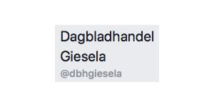 Dagbladhandel Giesela - logo